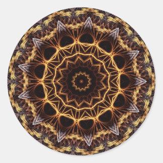 Pegatina del tapetito del fractal
