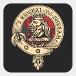 Pegatina del tartán de la insignia de Gregor del c