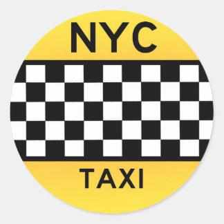 Pegatina del TAXI de NYC