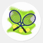 Pegatina del tenis