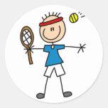 Pegatina del tenis del deporte