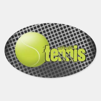 Pegatina del tenis, pelota de tenis, deporte,
