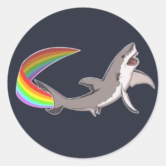 Pegatina del tiburón de Nyan