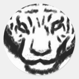 pegatina del tigre