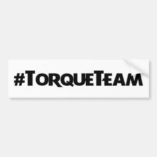 Pegatina del #TorqueTeam Pegatina Para Auto