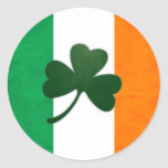 Pegatina del trébol de Irlanda