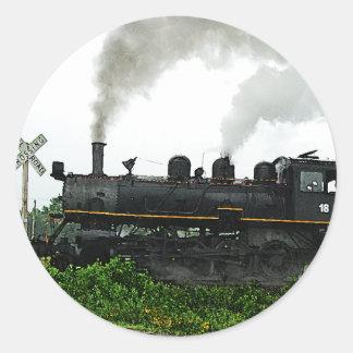 Pegatina del tren de excursión