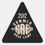 Pegatina del triángulo de 2012 SRC