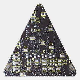Pegatina del triángulo de la etiqueta del regalo