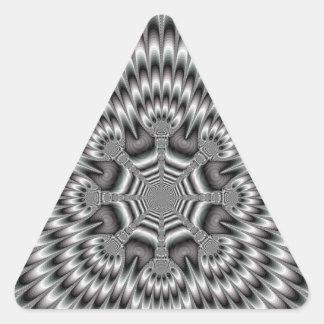 Pegatina del triángulo de la rueda de la antorcha