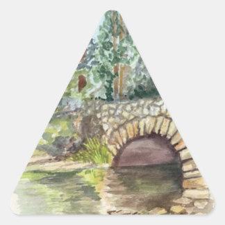 Pegatina del triángulo del valle de Yosemite del