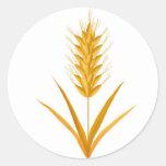 Pegatina del trigo
