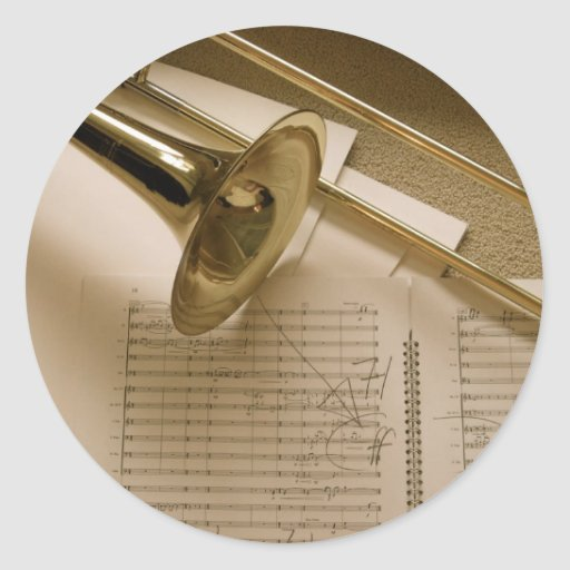 Pegatina del Trombone