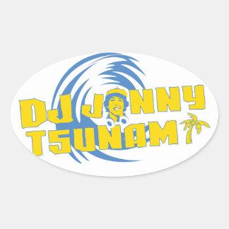 Pegatina del tsunami de DJ Jonny