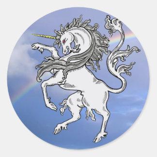 Pegatina del unicornio