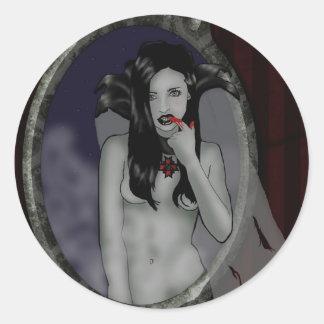 pegatina del vampiro
