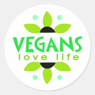 Pegatina del vegano