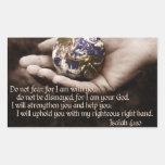 Pegatina del verso de la biblia