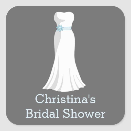 Pegatina del vestido de boda