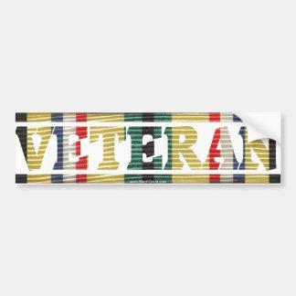 Pegatina del veterano de la guerra del Golfo Pegatina Para Auto