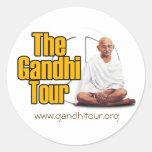 Pegatina del viaje de Gandhi