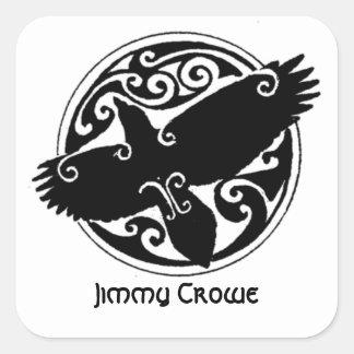 Pegatina del viaje de Jimmy Crowe