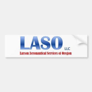 Pegatina del vinilo de LASO Etiqueta De Parachoque