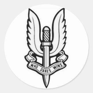 Pegatina del vinilo del emblema del SAS
