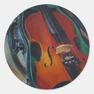 Pegatina del violín