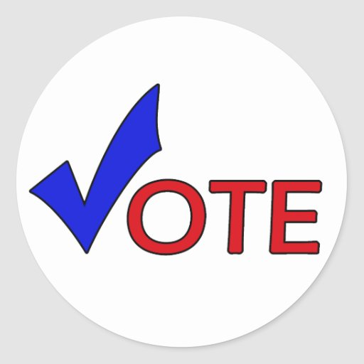 Pegatina del voto