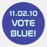 Pegatina del VOTO 11.02.10