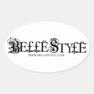 Pegatina del Web site de BelleStyle