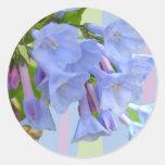 Pegatina del Wildflower de los Bluebells de Virgin