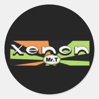 Pegatina del xenón