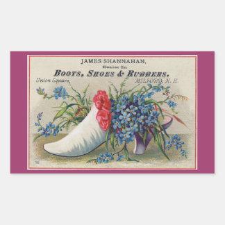 Pegatina del zapato del Victorian
