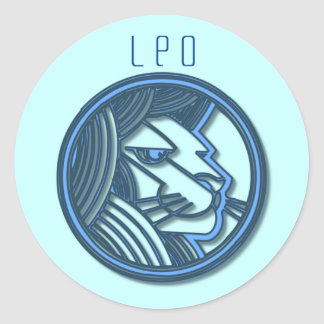 Pegatina del zodiaco de Leo