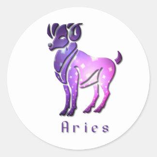 Pegatina del zodiaco del aries