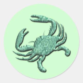 Pegatina del zodiaco del cáncer