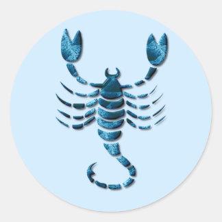 Pegatina del zodiaco del escorpión