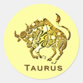 Pegatina del zodiaco del tauro