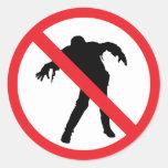 Pegatina del zombi