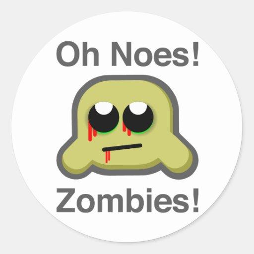 pegatina del zombielurker