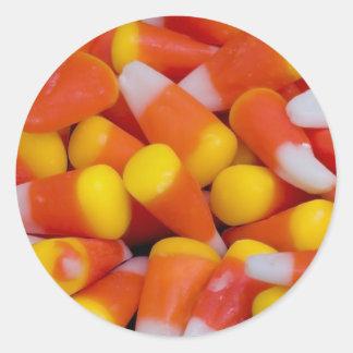 Pegatina derramado de las pastillas de caramelo