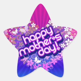 Pegatina Dia de la Madre Star Sticker