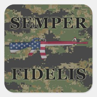 Pegatina Digital de Semper Fidelis M16