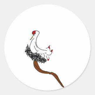 Pegatina dignificado del pájaro