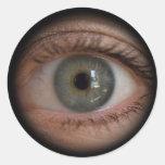 Pegatina divertido del Peephole del ojo