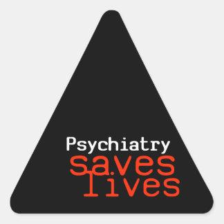 Pegatina dramático de la Favorable-Psiquiatría