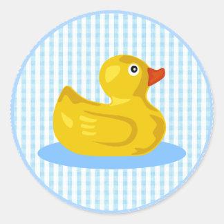 Pegatina Ducky de goma