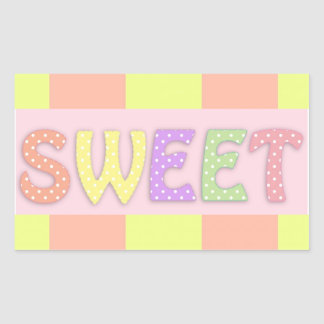 Pegatina dulce